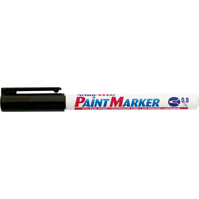 Paint marker Artline EK444 sort 0,8mm rund spids