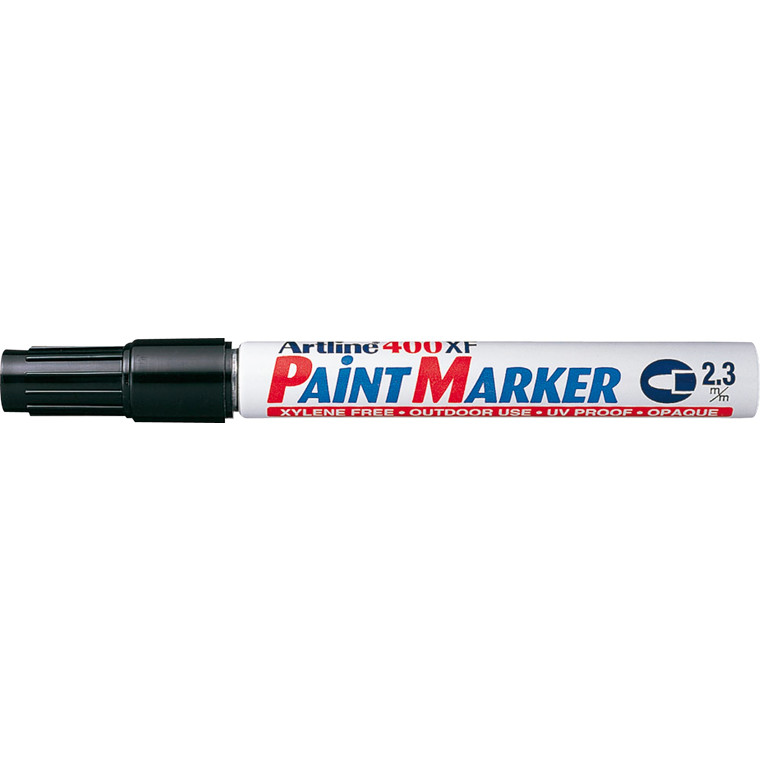 Paint marker Artline sort EK-400/1 blisterpak
