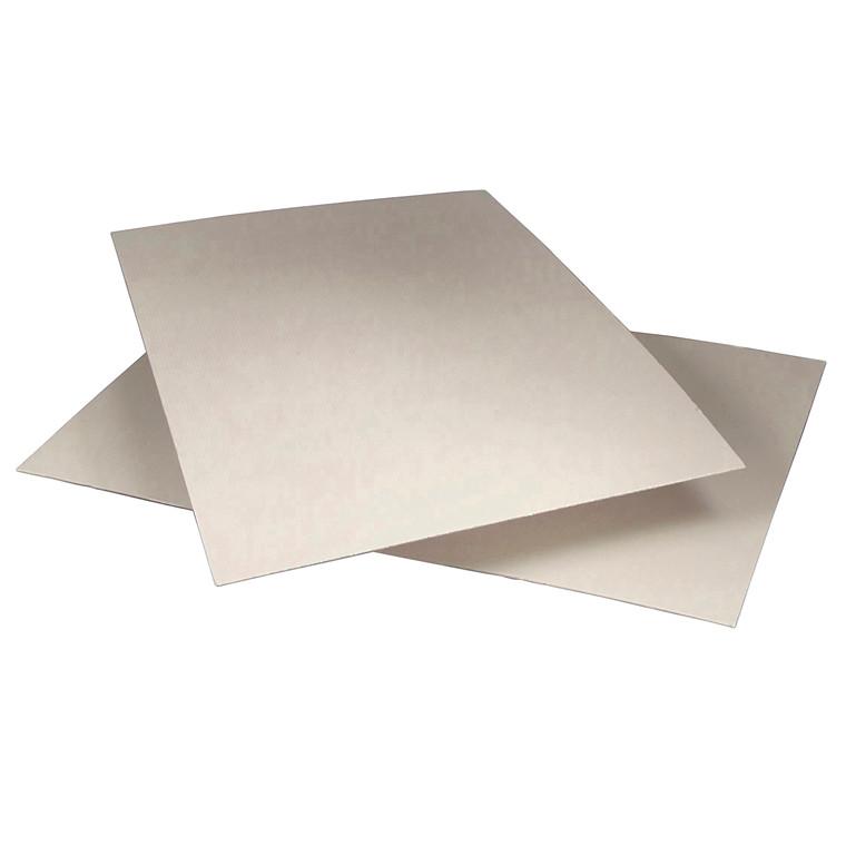Palleark grå 750 x 1150 mm x 250 g - pris pr.  kg.