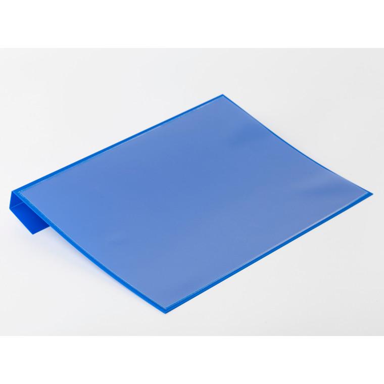 Pallelomme i blå A4 til pallerammer - 50 stk. i pakningen