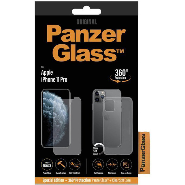 PanzerGlass Apple iPhone 11/w. PG Case