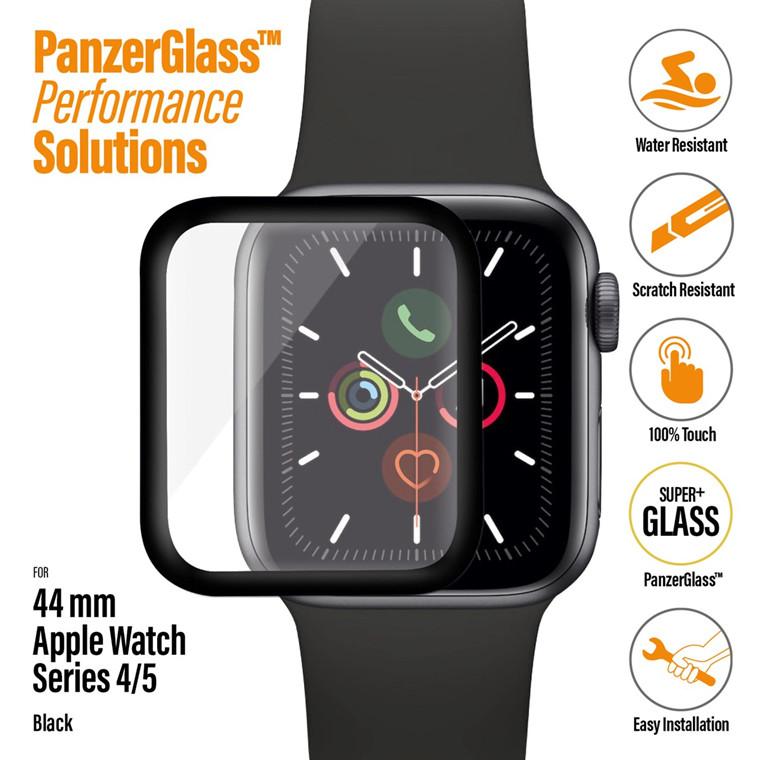 PanzerGlass Apple Watch Series 4 - 5, Black (44 mm)