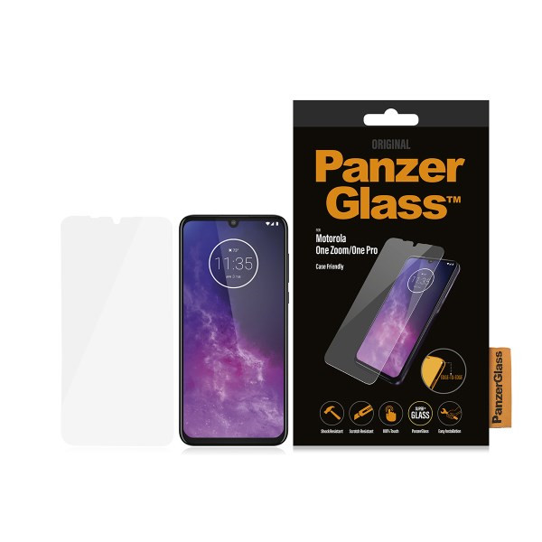PanzerGlass Motorola One Zoom/One Pro Case Friendly