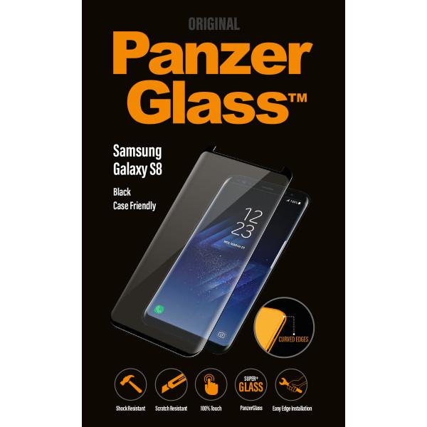 PanzerGlass Samsung S8 CaseFriendly, Black
