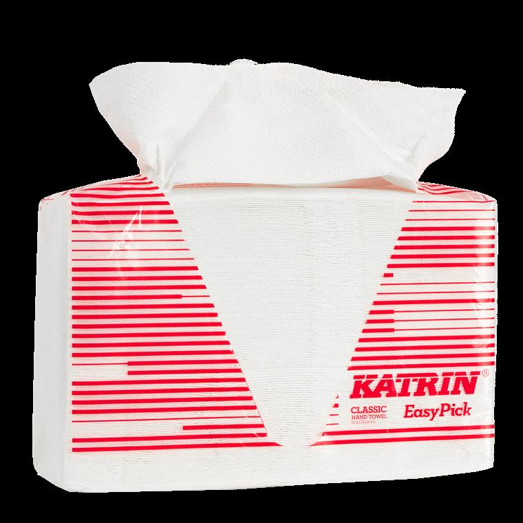 Håndklædeark Katrin 343122 Classic Easy Pick M2  2 lags 25,5 cm x 24 cm - 1080 ark