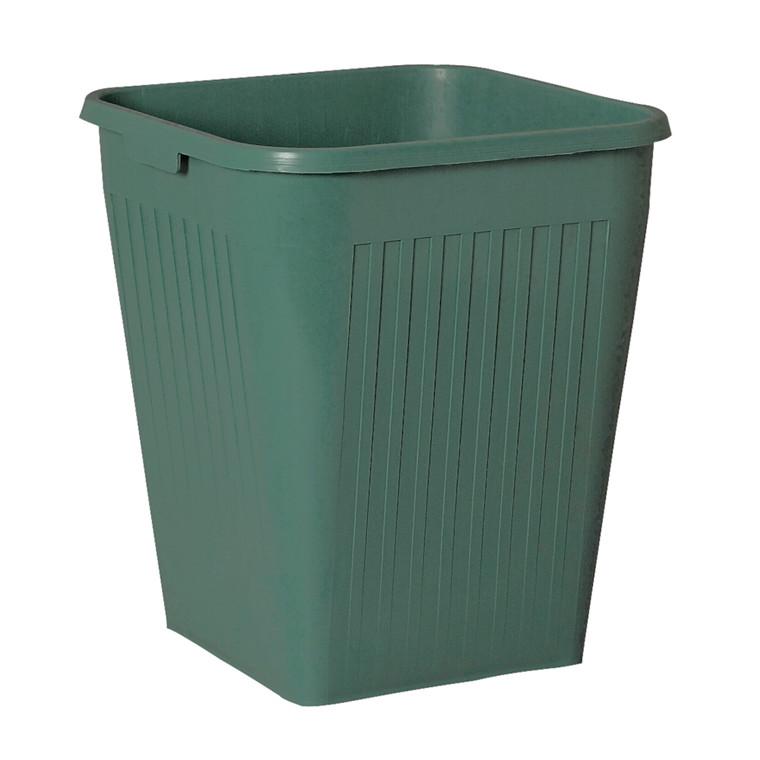 Papirkurv, Bantex, grøn, 25 l