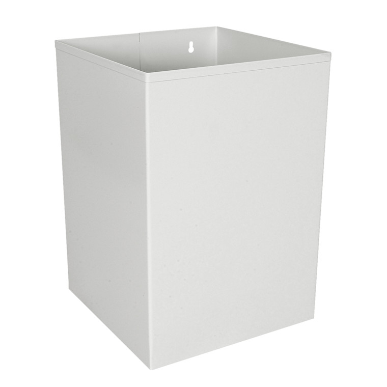 Papirkurv, lysgrå, 21 l
