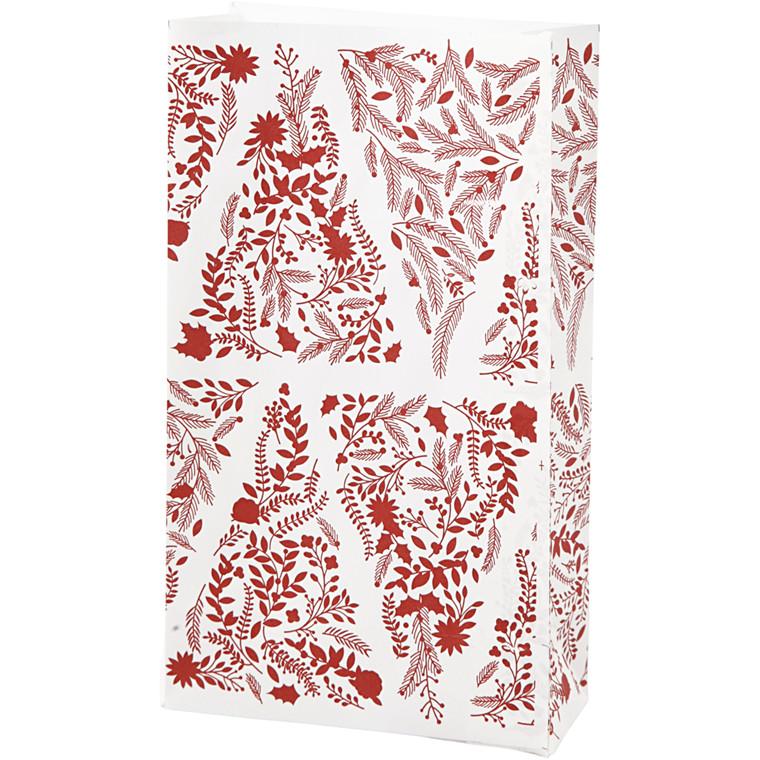 Vivi Gade Papirsposer juletræer 80 gram Højde 21 cm str. 6 x 12 cm - 10 stk
