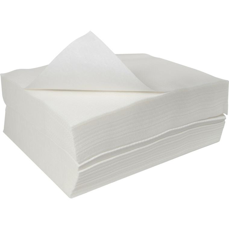 Papirvaskeklud, Abena, 1-lags, 23x16cm, hvid, engangs *Denne vare tages ikke retur*
