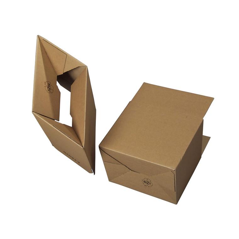 Papkasse med automatbund - 310 x 230 x 165 mm (A4) - 12 liter - 3 mm