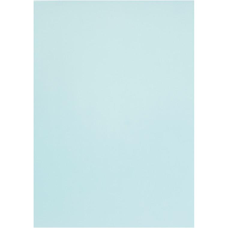 Pergamentpapir, lys blå, A4 210x297 mm, 100 g, 10ark