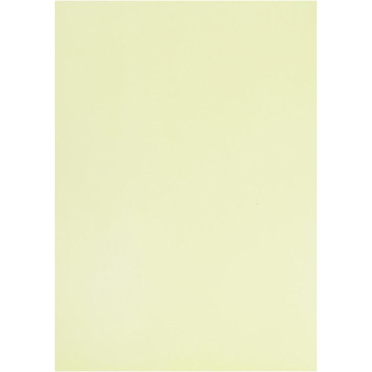 Pergamentpapir, lys grøn, A4 210x297 mm, 100 g, 10ark