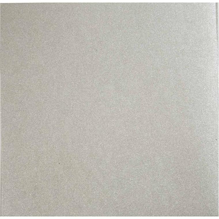 Perlemorspapir, A4 210x297 mm, 120 g, sølv, struktur, 10ark