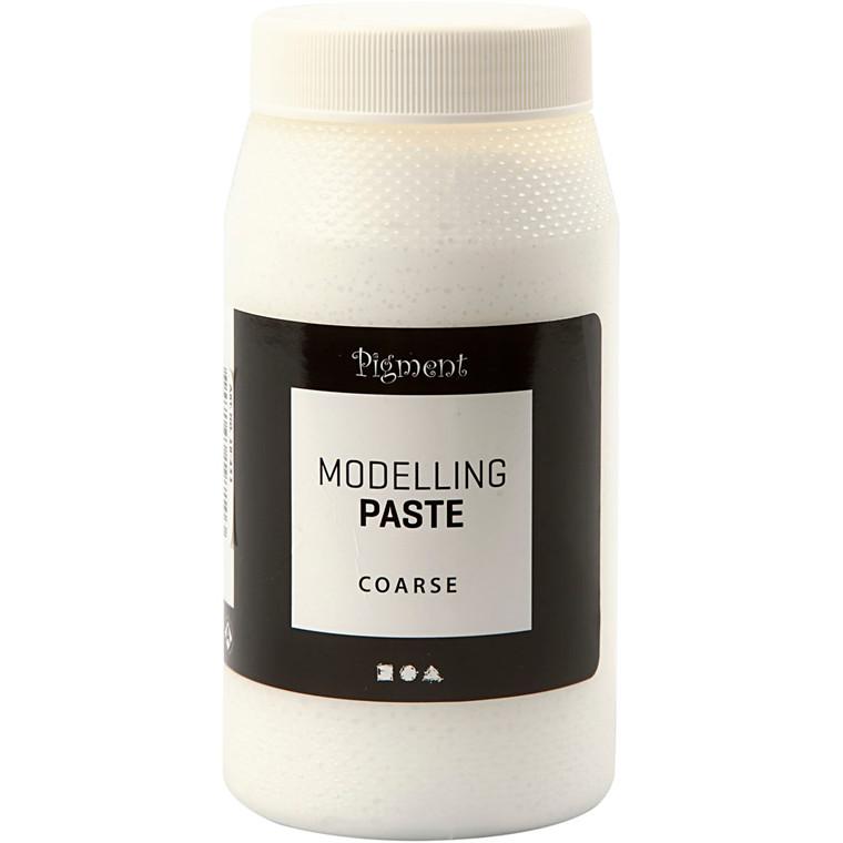 Pigment Modellingpasta, grov, 500ml