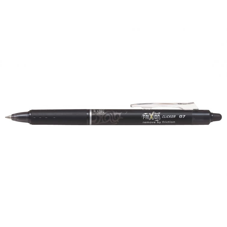 Pilot Ball FriXion Clicker - Sort Rollerpen 0,7 mm