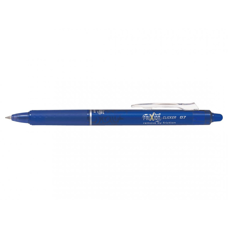 Pilot FriXion Clicker - Blå Rollerball Pen 0,7 mm