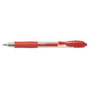 Pilot Gelpen BL-G2-5 - Rød streg extra fine 0,3 mm