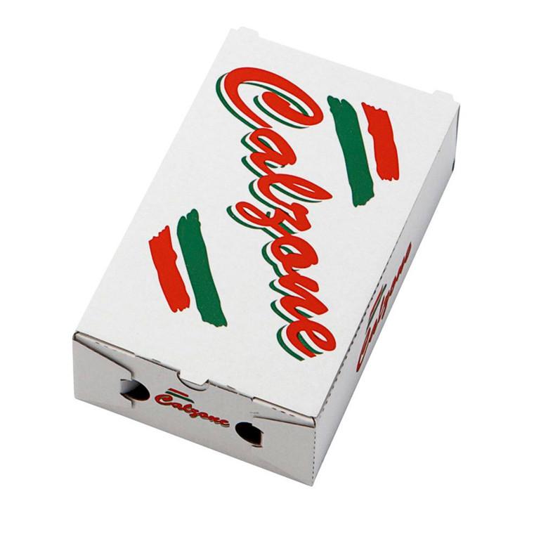 Pizzaæske 27 x 16½ x 7½ cm calzone neutralt tryk - 100 stk.