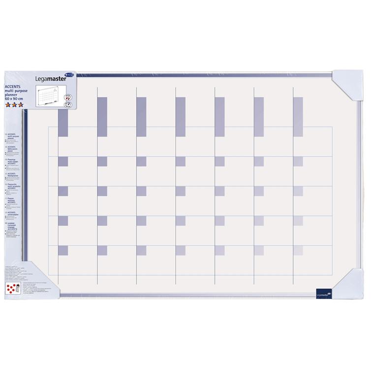 Planlægningstavle - Legamaster Multiplanner 4905 60 x 90 cm