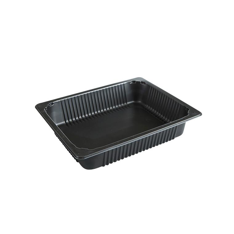 Plastbakke GastroNorm høj PP sort P2325-65T - 96 stk. - 4055 ml