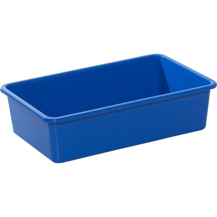Plastbakke, blå, L48 cm x B30 cm x H11 cm,