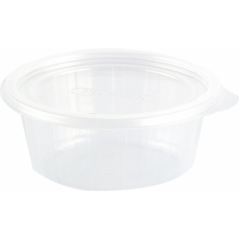 Plastbakke Fixpack PP rund klar 200 ml - 700 stk