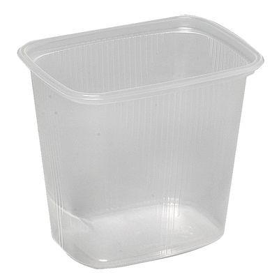 Plastbakke, klar, 500 ml