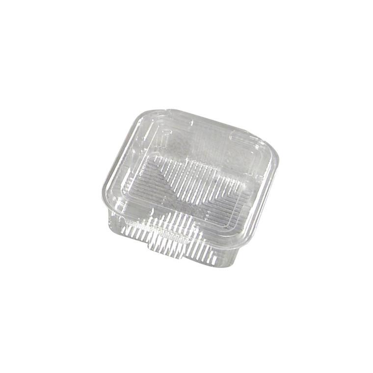 Plastbakke med hængslet låg v497 175 x 168 x 65 mm 1000 ml - 300 stk