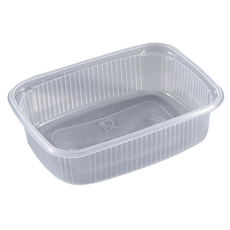 Plastbakke mini 65 PP klar 125 ml 108 x 82 x 36,5 mm - 1000 stk