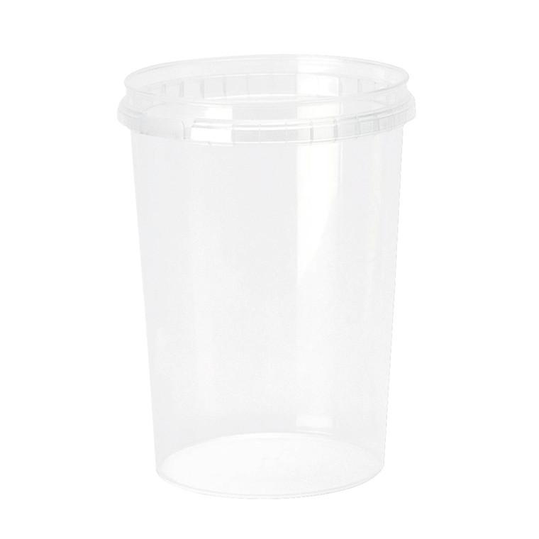 Plastbøtte + låg handy-lock PP 520 ml Ø 95 mm - 380 sæt