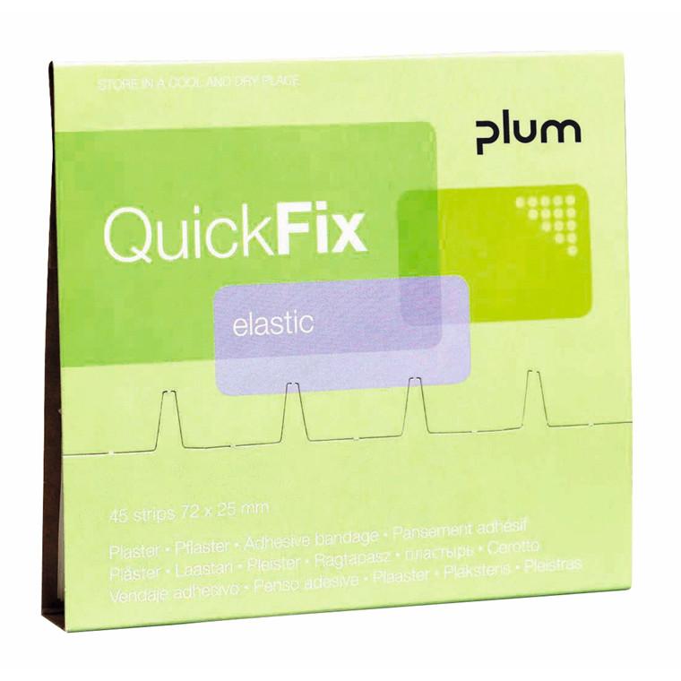 Plaster refill Elastic 45stk Quick Fix