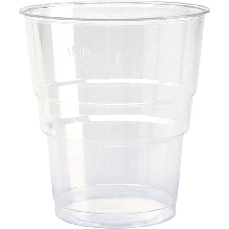 Plastglas økonomi 39 cl 0,3 liter - 50 stk