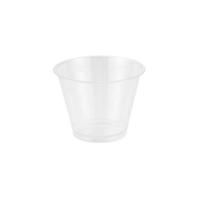 Plastglas yoghurt/müsli PET - 27 cl (9oz) -  50 stk
