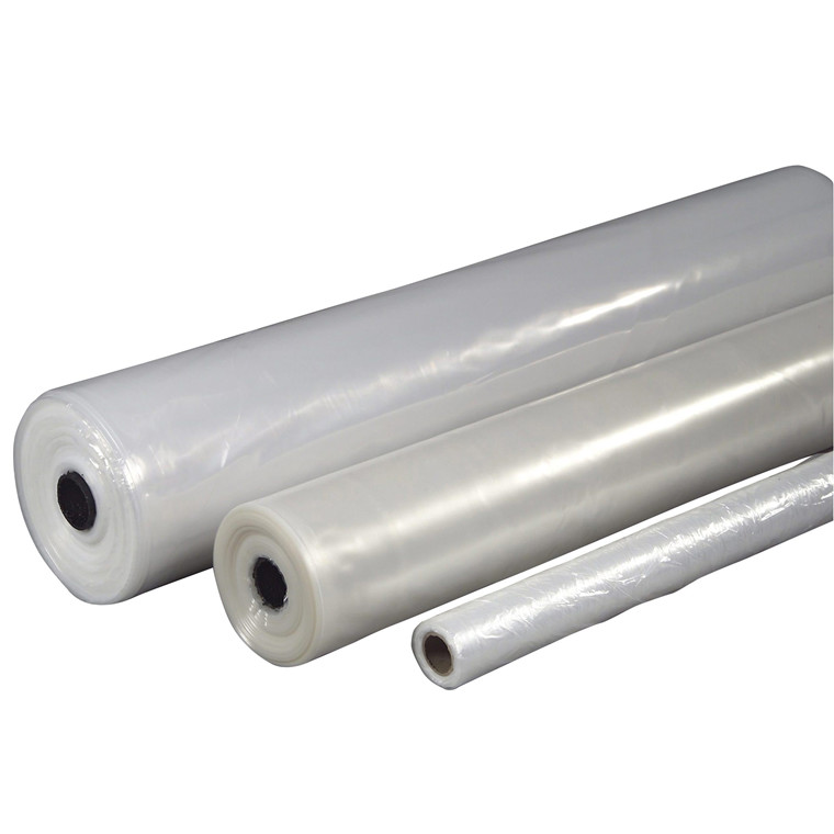 Plastik klar 2x50mx0,10mm Lux 9,2kg foldet 1 gang