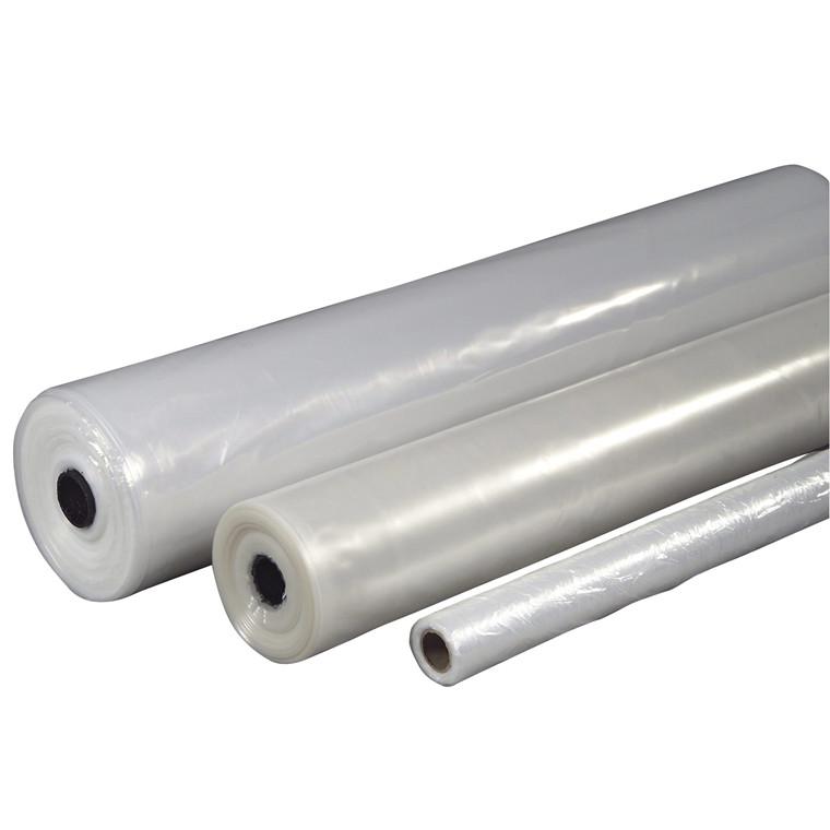 Plastik klar 3x50mx0,15mm PE 20,7kg foldet 1 gang