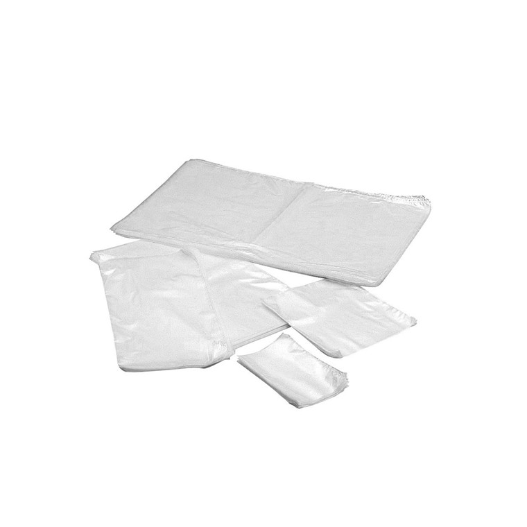 Plastikpose klar i LDPE - 200 x 400 x 0,07 mm 500 stk