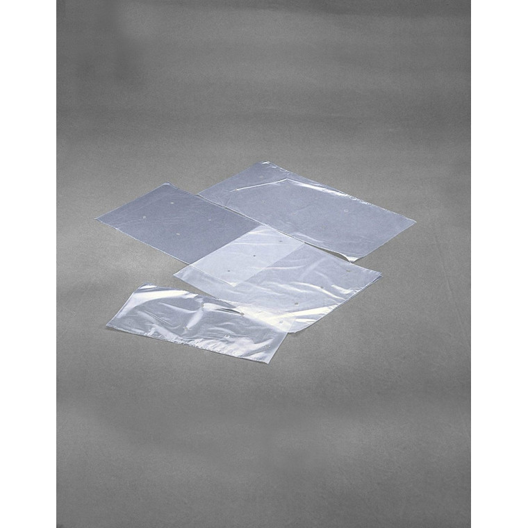 Plastikpose med hul i klar LDPE - 200 x 400 mm  25 my 1000 stk