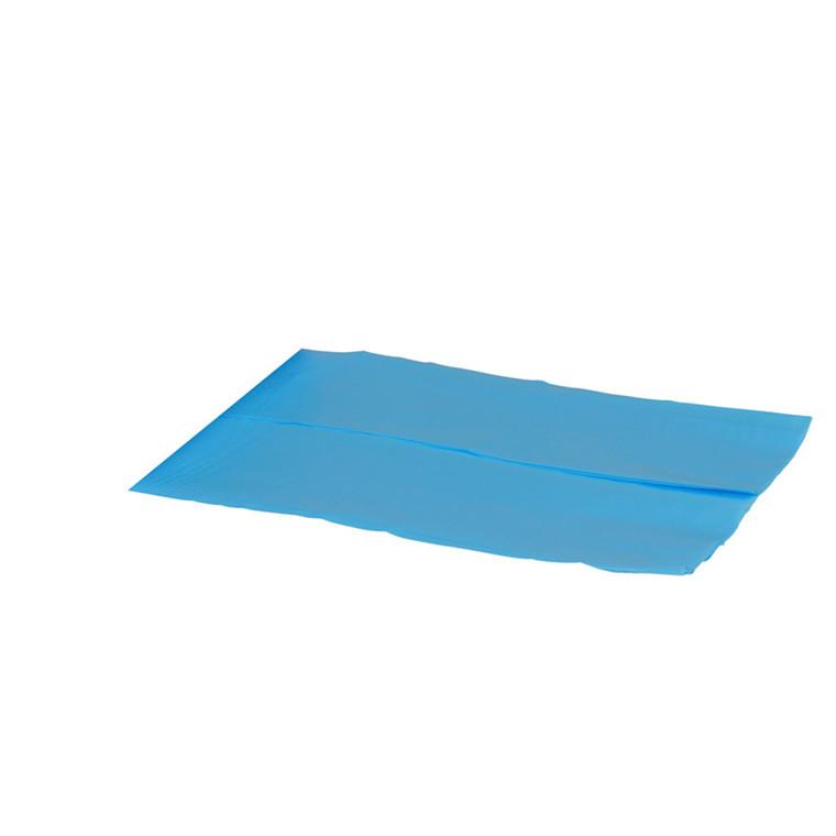 Plastikposer til skumkasser blå 620 200x630x0,03mm 250stk