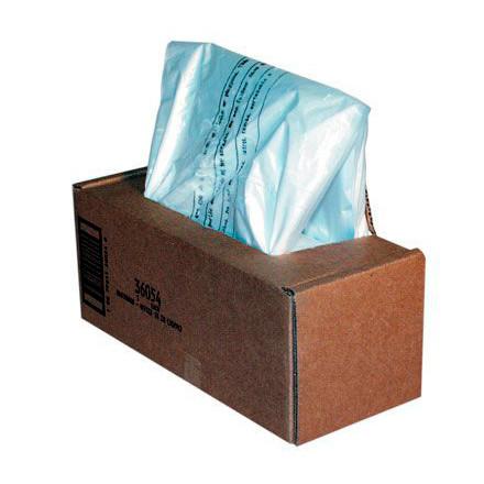 Plastiksække til makulering Fellowes 75l 50stk/pak