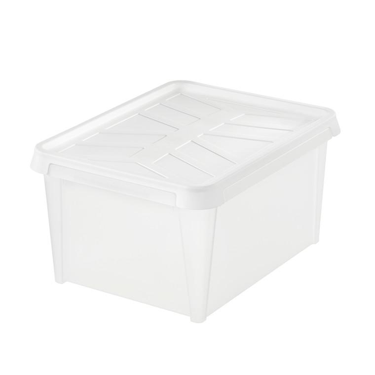 Plastkasse - Smart Store i hvid Dry 31