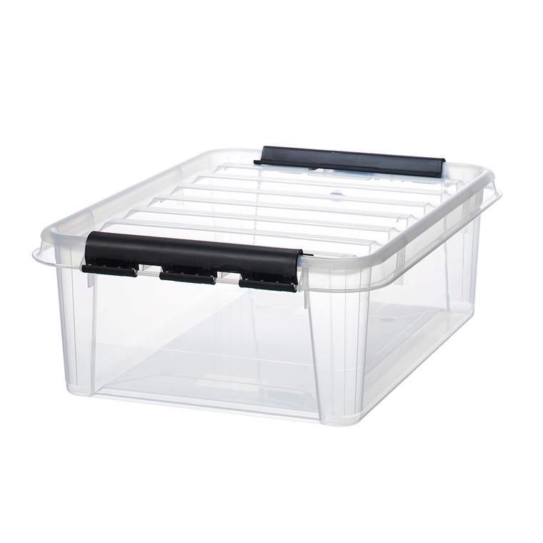 Plastkasse - Smart Store klar 24 liter