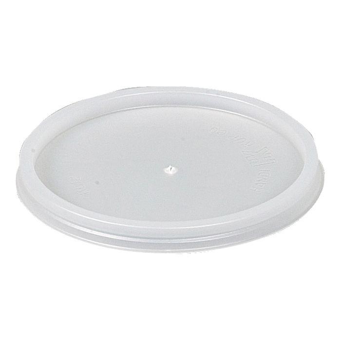 Plastlåg, hvid, polystyren,