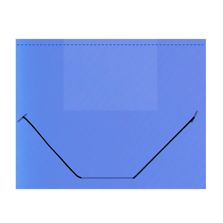 Plastmappe BNT/Office PP A4 blå