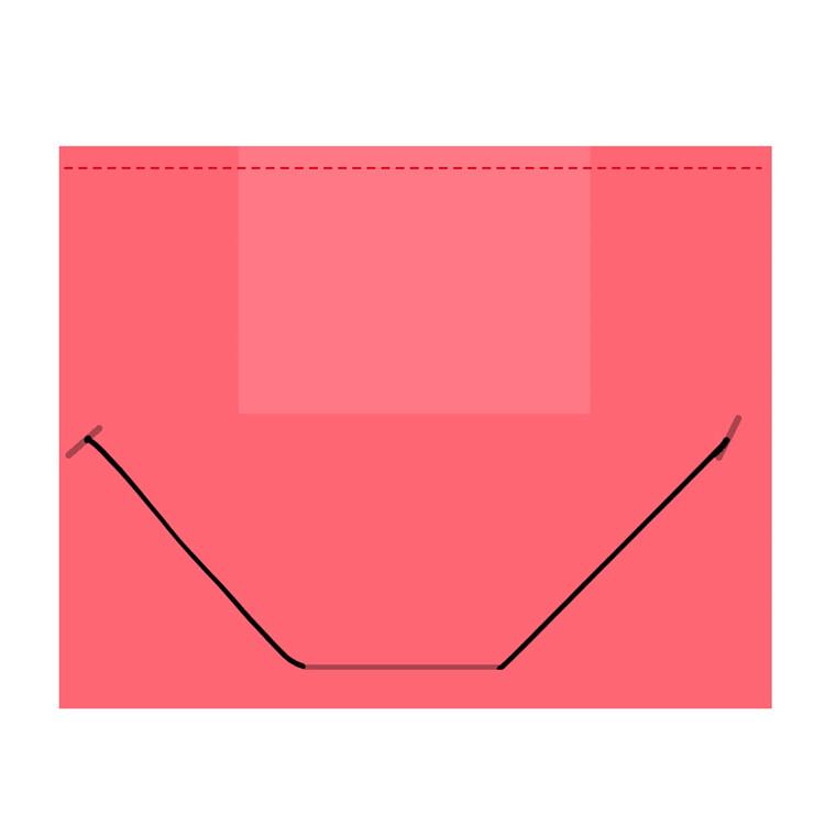 Plastmappe BNT/Office PP A4 rød