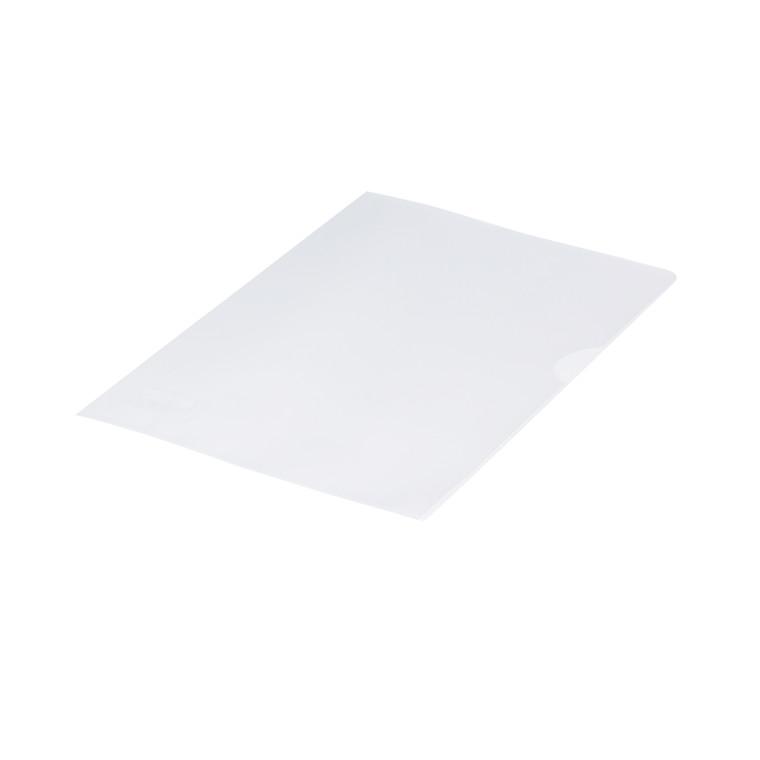 Plastomslag 0,12mm A5 med præg 100stk/pak Q-line