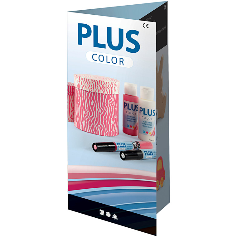 Plus Color Brochure, A4 z-fold , Fransk, 1stk.