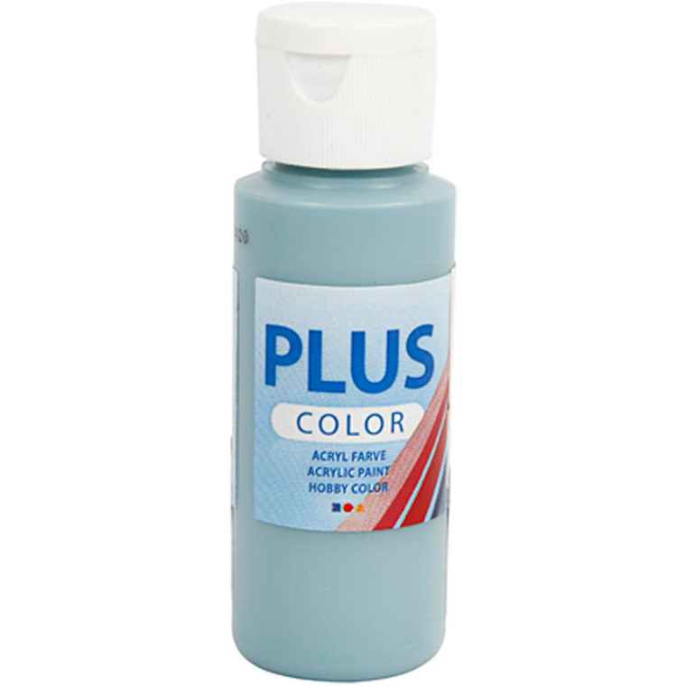 Plus Color hobbymaling, dusty blue, 60ml