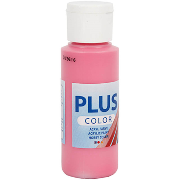 Plus Color hobbymaling, fuchsia, 60ml
