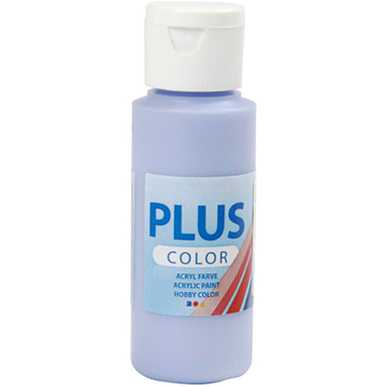 Plus Color hobbymaling, lavender blue, 60ml