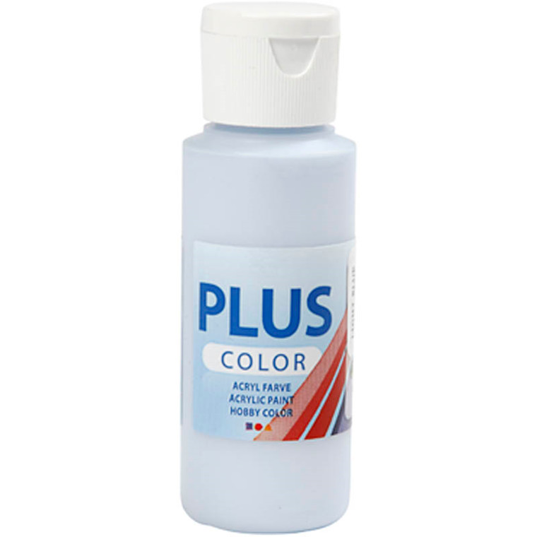 Plus Color hobbymaling, light blue, 60ml